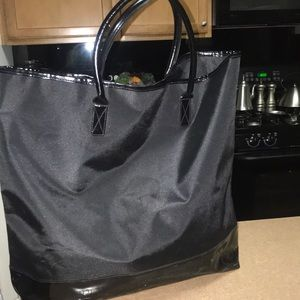 Gigantic Burberry Fragrance Tote